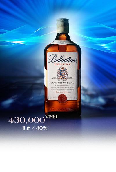Rượu Ballantine's Finest - Giá rượu Ballantine không số