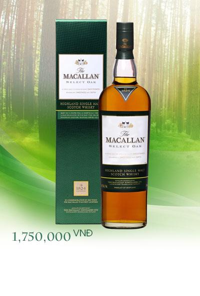 Rượu Macallan 1824 - Giá Macallan 1824 năm 2019