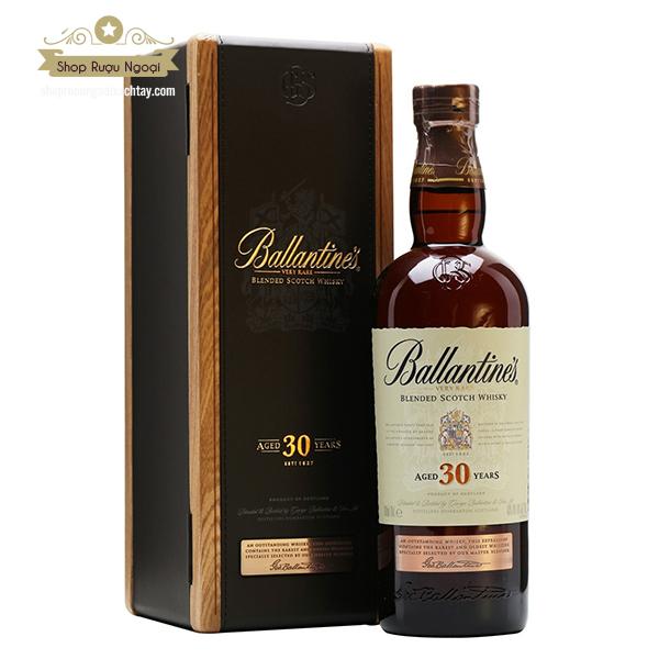 Rượu Ballantine's 30 Năm - shopruoungoaixachtay.com