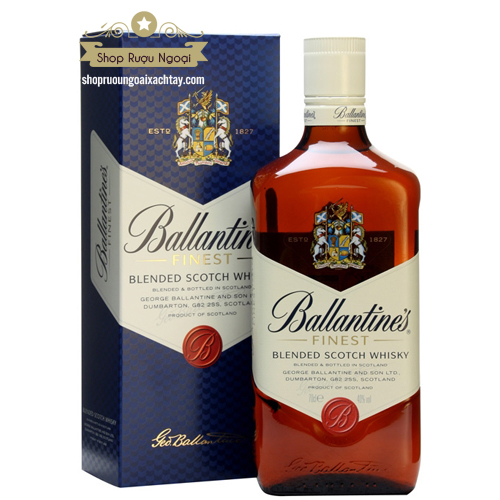 Rượu Ballantine Finest - shopruoungoaixachtay.com