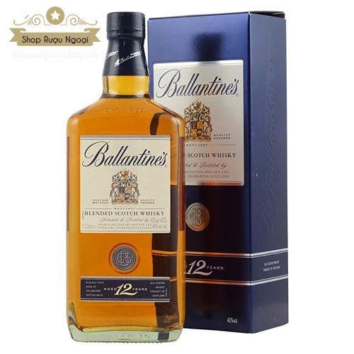 Rượu Ballantine's 12 Năm - shopruoungoaixachtay.com