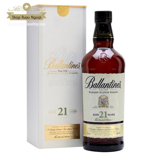 Rượu Ballantine's 21 Năm - shopruoungoaixachtay.com