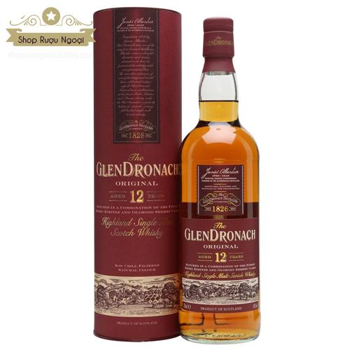 Rượu Glendronach 12 Năm - shopruoungoaixachtay.com