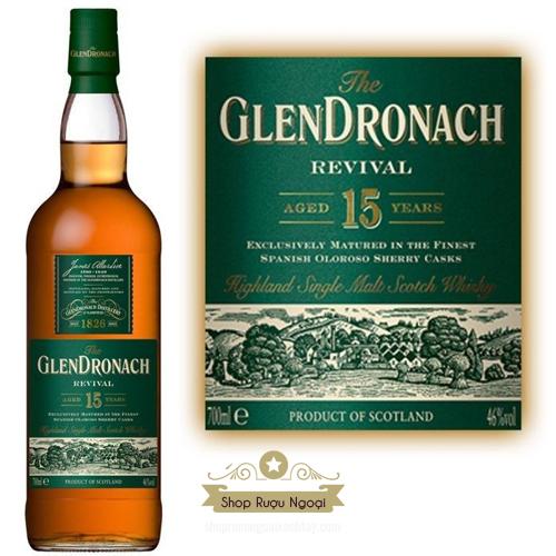 Rượu Glendronach 15 Năm - shopruoungoaixachtay.com