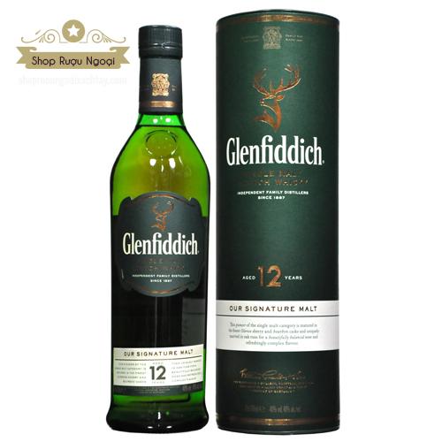 Rượu Glenfiddich 12 năm - shopruoungoaixachtay.com