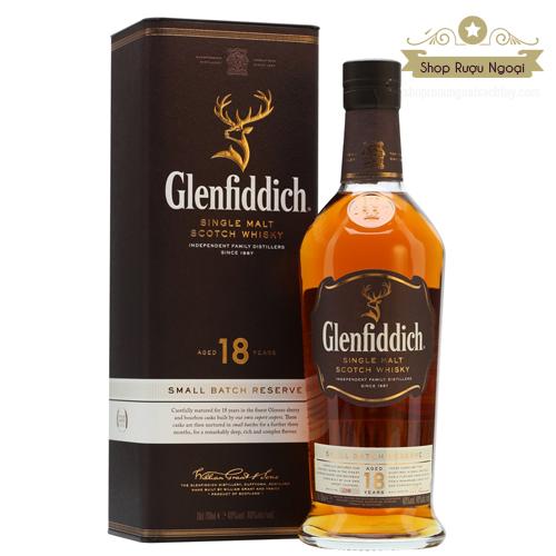 Rượu Glenfiddich 18 năm - shopruoungoaixachtay.com