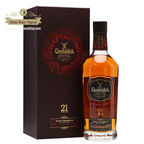 Rượu Glenfiddich 21 Năm - shopruoungoaixachtay.com
