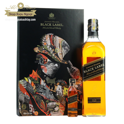 Rượu Johnnie Walker Black Label 2018 - shopruoungoaixachtay.com