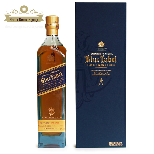 Rượu Johnnie Walker Blue - shopruoungoaixachtay.com