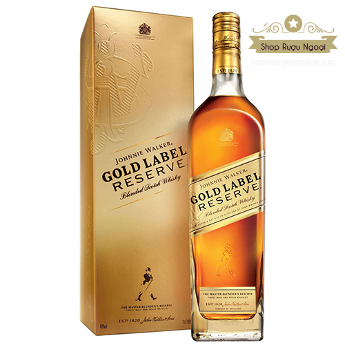 Rượu Johnnie Walker Gold Laber - shopruoungoaixachtay.com
