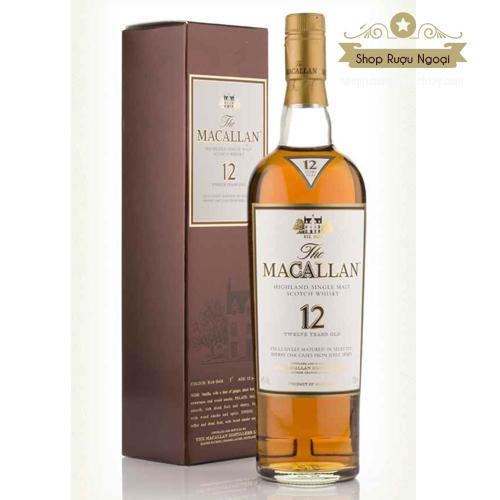 Rượu Macallan 12 năm - shopruoungoaixachtay.com
