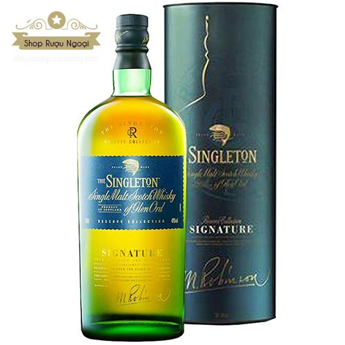 Rượu Singleton Signature - shopruoungoaixachtay.com