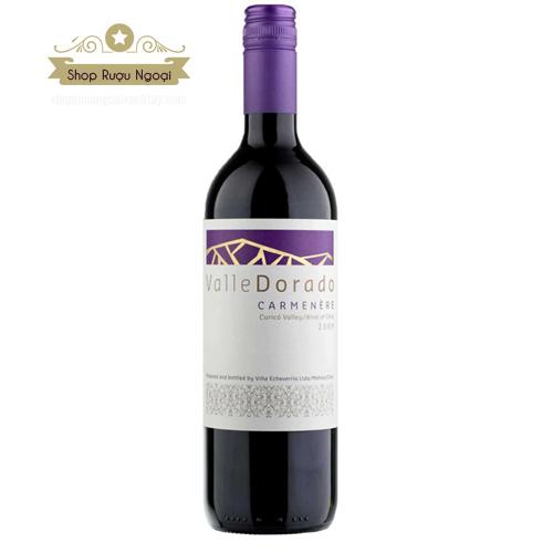 Rượu Vang Chile Valle Dorado Carmenere Tím - shopruoungoaixachtay.com