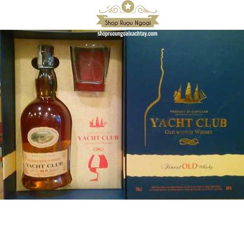 Rượu Yacht Club thiết kế hộp quà - shopruoungoaixachtay.com