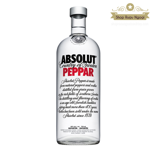 Rượu Absolut Peppar 750ml - shopruoungoaixachtay.com