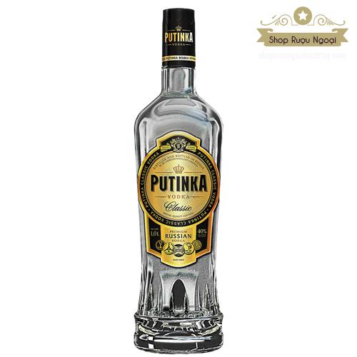 Rượu Vodka Putinka 500 ml - shopruoungoaixachtay.com