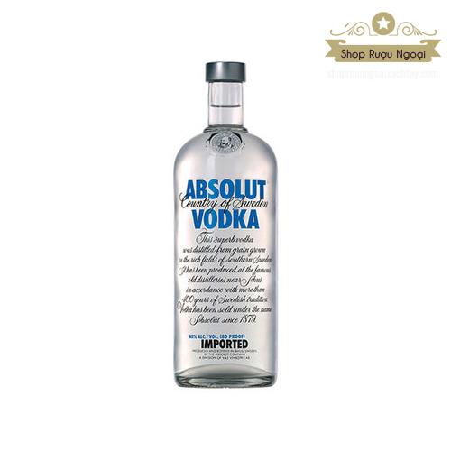 Rượu Vodka Abosolut - shopruoungoaixachtay.com