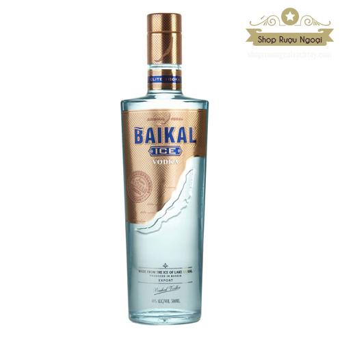 Rượu Vodka Baikal - shopruoungoaixachtay.com