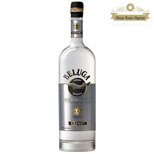 Rượu Vodka Beluga Noble - shopruoungoaixachtay.com
