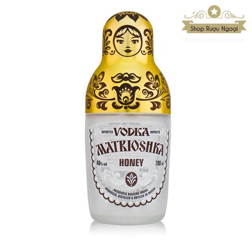 Rượu Vodka Búp Bê Matrioshka - shopruoungoaixachtay.com