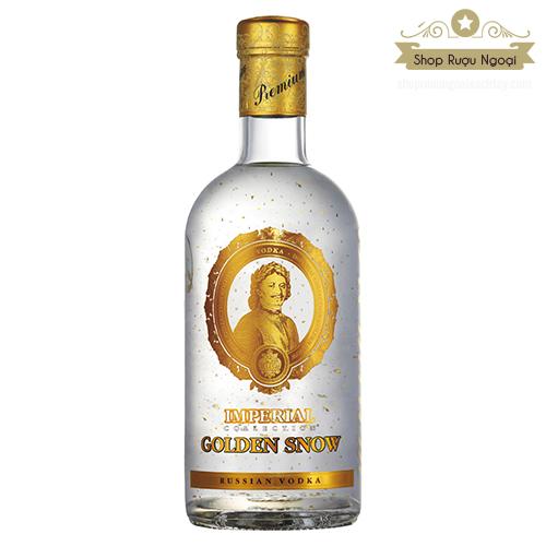 Rượu Vodka Imperial Golden Snow - Rượu Vodka Sa Hoàng Tuyết Vàng - shopruoungoaixachtay.com