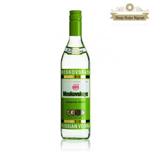 Rượu Vodka Moskovskaya - shopruoungoaixachtay.com