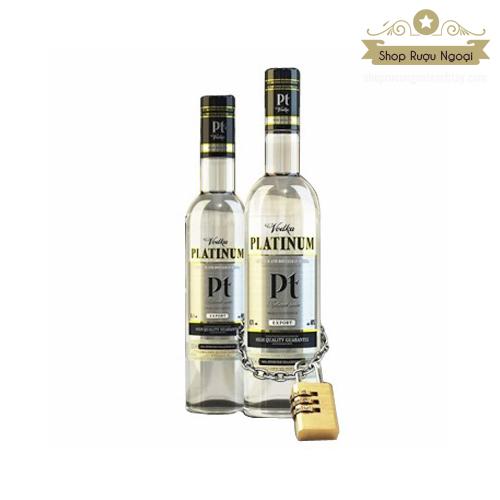 Rượu Vodka Platinum Pt - shopruoungoaixachtay.com