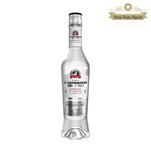 Rượu Vodka Silver Premium - Rượu Tem Bạc - shopruoungoaixachtay.com