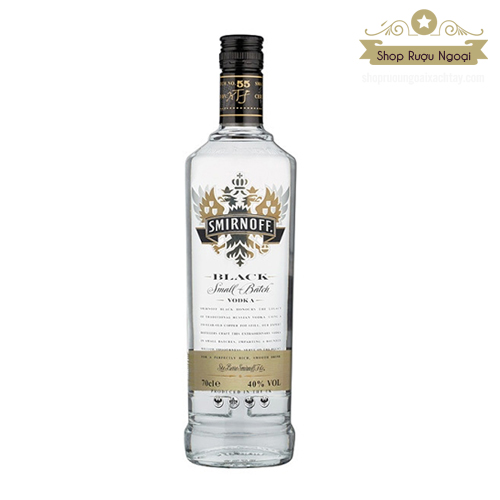 Rượu Vodka Smirnoff Black - shopruoungoaixachtay.com