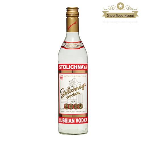 Rượu Vodka Stolichnaya - shopruoungoaixachtay.com