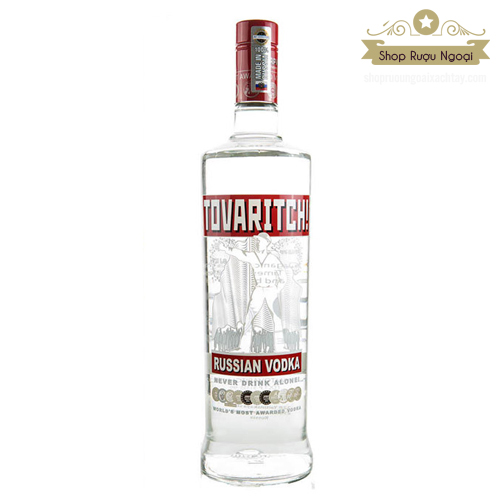 Rượu Vodka Tovaritch 1000ml - shopruoungoaixachtay.com