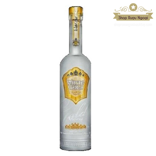 Rượu Vodka White Gold Premium 750ml - shopruoungoaixachtay.com