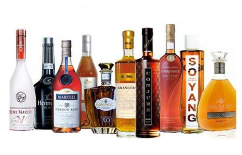 4 loại rượu phổ biến