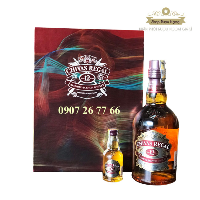 Chivas 12 Hộp Quà Tết Mẫu 2019 - Phân Phối Rượu Ngoại