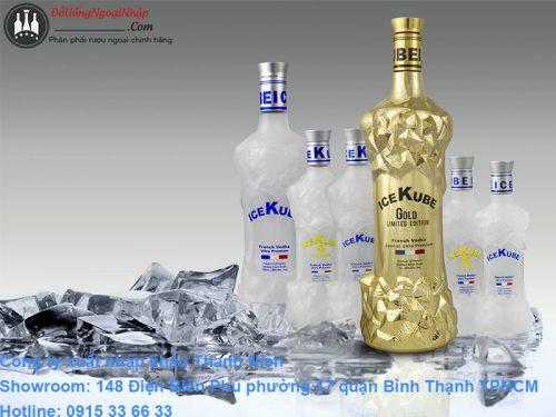 rượu vodka ice kube
