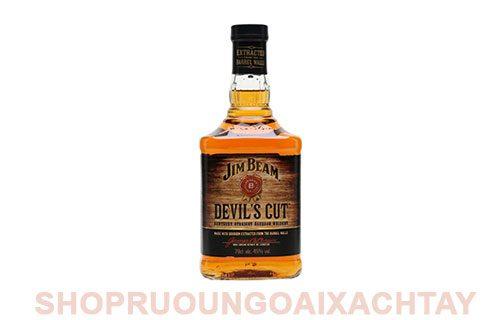 Rượu Jim Beam Devils Cut (700ml) - Trải nghiệm mới lạ