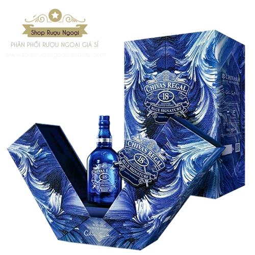 Rượu Chivas 18 mẫu mới 2021 Tân Sửu