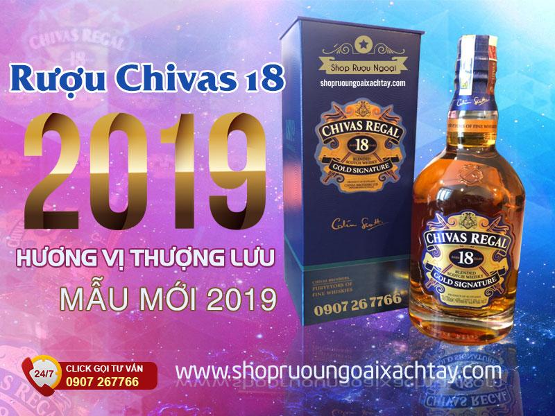 Rượu Chivas 18 năm 2019