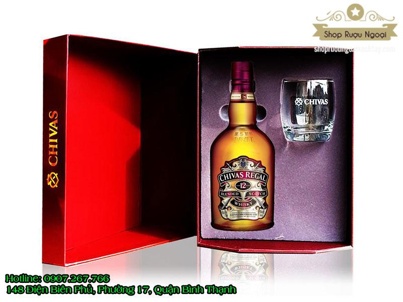 Rượu Chivas 12 Năm hộp quà 2018
