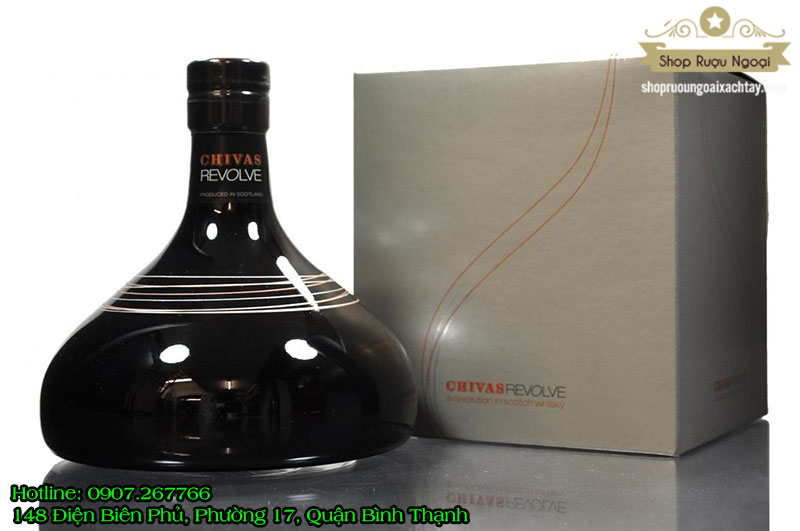 Rượu Chivas Revolve Đĩa